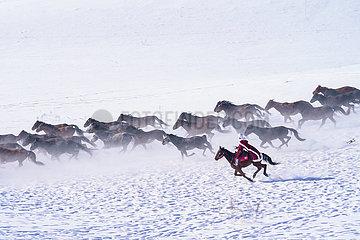 CHINA-XINJIANG-ZHAOSU-TOURISM (CN)