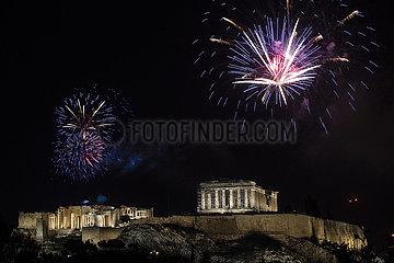 GRIECHENLAND-ATHEN-NEUE JAHR-FEIER