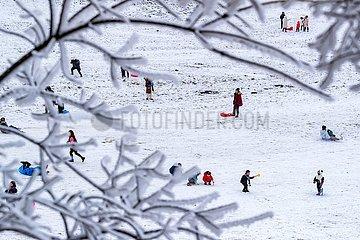 # CHINA-CHONGQING-Jinfo BERG-SNOW (CN) # CHINA-CHONGQING-Jinfo BERG-SNOW (CN) # CHINA-CHONGQING-Jinfo BERG-SNOW (CN)