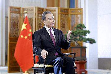 CHINA Beijing-WANG YI-Interview (CN)
