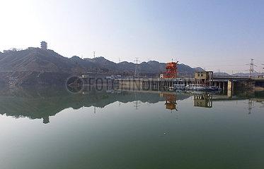 #CHINA-GANSU-YELLOW RIVER-LIUJIAXIA RESERVOIR-ICE JAM FLOOD (CN)