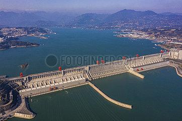 # CHINA-HUBEI-Three Gorges Project-STROMERZEUGUNG-NEW WORLD RECORD (CN)