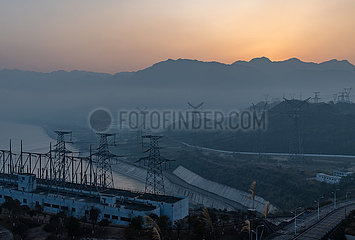 # CHINA-HUBEI-THREE GORGES PROJECT-STROMERZEUGUNG-NEW RECORD WORLD (CN) # CHINA-HUBEI-THREE GORGES PROJECT-STROMERZEUGUNG-NEW WORLD RECORD (CN)