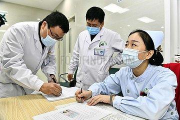 CHINA-SHANDONG-COVID-19-IMPFSTOFF Inokulation (CN)