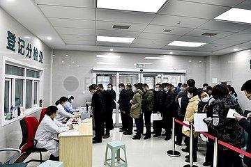 CHINA-SHANDONG-COVID-19-IMPFSTOFF Inokulation (CN) CHINA-SHANDONG-COVID-19-IMPFSTOFF Inokulation (CN)