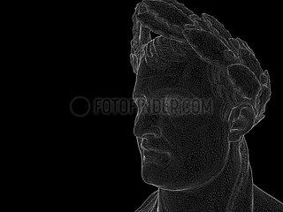 CGI-Visualisierung: Portrait Napoleon Bonaparte