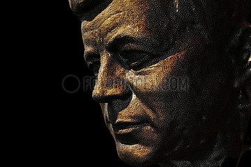 CGI-Visualisierung: Portrait: John F. Kennedy