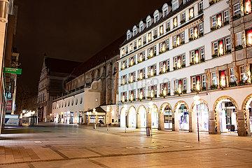 Ausgangssperre während des Lockdowns in München