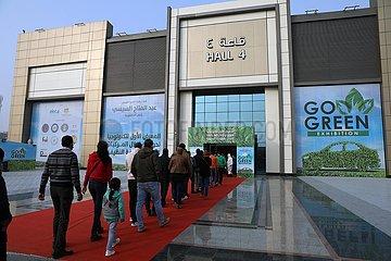 ÄGYPTEN-KAIRO-GO GREEN-AUSSTELLUNG