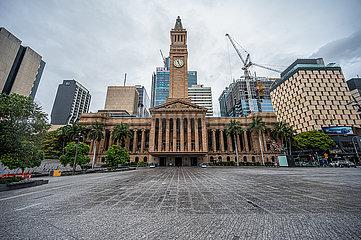 AUSTRALIEN-BRISBANE-COVID-19-LOCKDOWN