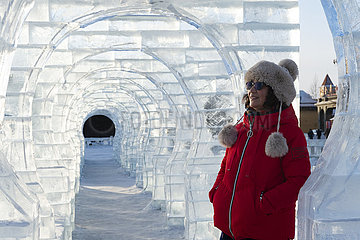 CHINA-HEILONGJIANG-MOHE-WINTER (CN)