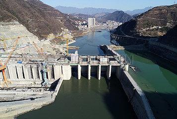 CHINA-SHAANXI-WASSERKRAFTWERK-CONSTRUCTION (CN)