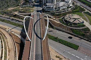 ISRAEL-Modiin-SPERRE-ANSICHTEN