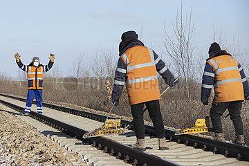 CHINA-HEILONGJIANG-FUYUAN-RAILWAY MAINTAINERS (CN)