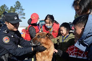 CHINA-HUNAN-CHANGSHA-National Police DAY-EVENT (CN)