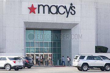US-TEXAS-LEWISVILLE--MACY'S-ABSCHLUSS