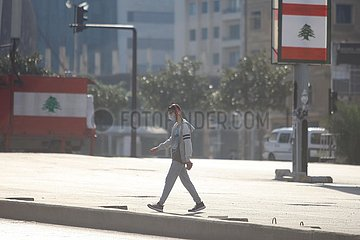 LIBANON-BEIRUT-COVID-19-FÄLLE