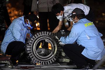 INDONESIEN-JAKARTA-FLUGZEUG-CRASH-SUCHE