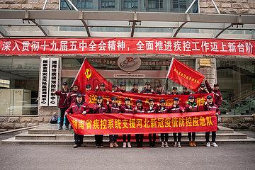 CHINA-HUNAN-CHANGSHA-COVID-19-AID-MEDICAL TEAM (CN)
