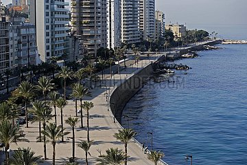 LEBANON-COVID-19-LOCKDOWN