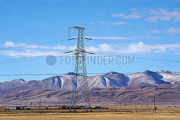 CHINA-TIBET-Stromversorgung (CN)