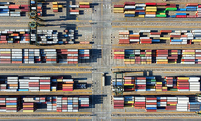 CHINA-TIANJIN PORT-CONTAINER THROUGHPUT-NEW RECORD (CN)