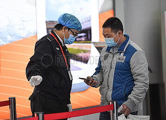 CHINA-HAINAN-HAIKOU-COVID-19-Prävention & Kontrolle (CN)