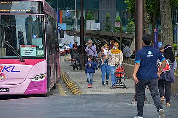 MALAYSIA-KUALA LUMPUR-COVID-19-Einschränkung der Bewegungsfreiheit