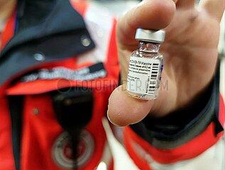Corona-Impfstoff von Biontech/Pfizer