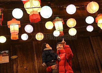 CHINA-ZHEJIANG-WUZHEN-WINTER-DAILY LIFE (CN)