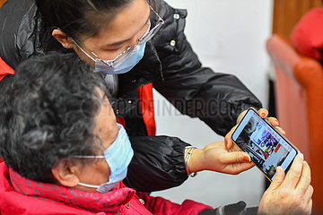 CHINA-HUNAN-CHANGSHA-ELDER-SMARTPHONE TRAINING (CN)