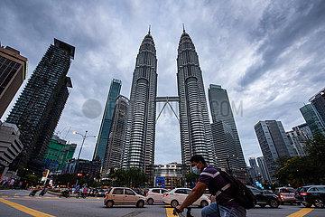 MALAYSIA-KUALA LUMPUR-COVID-19-CASES-NEW RECORD