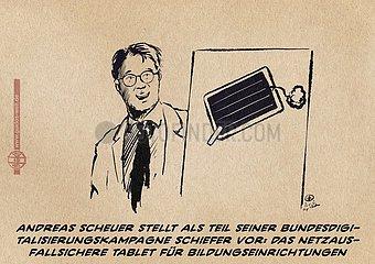 Homeschooling und Bundesminister fuer Netzausbau