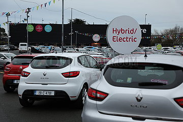 IRELAND-DUBLIN-AUTO SALES