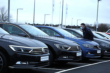 IRLAND-DUBLIN-AUTO SALES