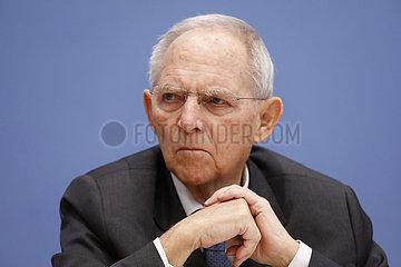 Bundespressekonferenz zum Thema: Buergerrat Deutschlands Rolle in der Welt