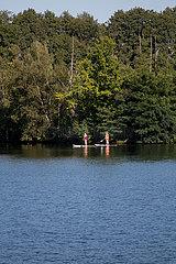 Deutschland  Winsen / Aller - Naturschutzgebiet Meissendorfer Teiche
