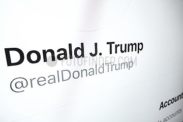 realDonaldTrump- Donald Trump auf twitter