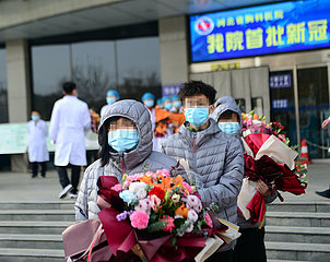 CHINA-HEBEI-SHIJIAZHUANG-COVID-19-PATIENTS DISCHARGE (CN)