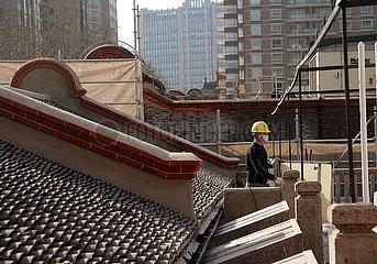 CHINA-Shanghai-CPC-MEMORIAL HALL-Renovierung (CN)