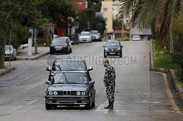 LIBANON-BEIRUT-COVID-19-LOCKDOWN