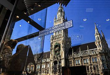 DEUTSCHLAND-München-COVID-19-FÄLLE-zwei Millionen