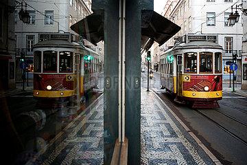 PORTUGAL-LISSABON-COVID-19-NEW LOCKDOWN