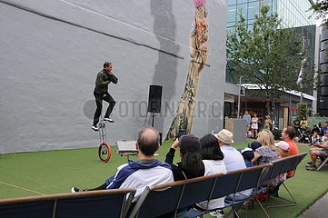 NEW ZEALAND-CHRISTCHURCH-BUSKERS FESTIVAL
