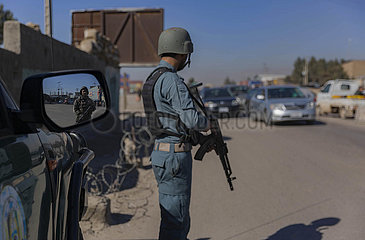 AFGHANISTAN-HERAT-TALIBAN-INSIDER ATTACK-PRO-GOV'T MILITIAMEN