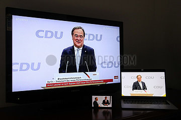 DEUTSCHLAND-BERLIN-RULING CDU-NEW CHAIRMAN