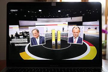 DEUTSCHLAND-BERLIN-RULING CDU-NEW CHAIRMAN