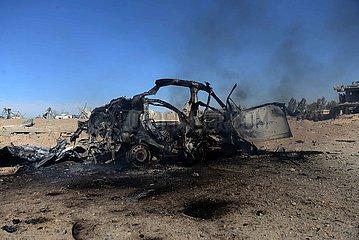 AFGHANISTAN-KANDAHAR-CAR BOMB