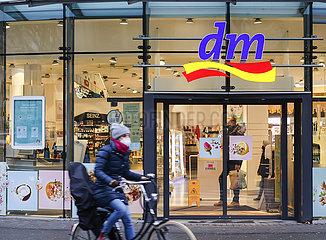 dm Drogeriemarkt  Koeln  Nordrhein-Westfalen  Deutschland