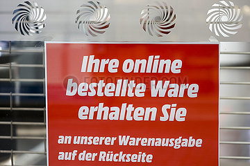 Click and Collect  MediaMarkt  Nordrhein-Westfalen  Deutschland